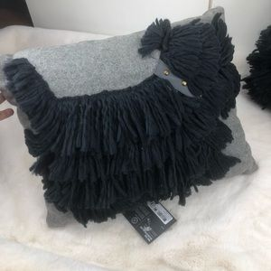 Martha Stewart Set Of Mop Dog Wool Accent Pillows